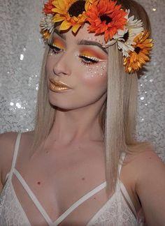 50 Pretty Halloween Makeup Ideas You'llLove | Halloween 2016 beauty looks for women | fall fairy