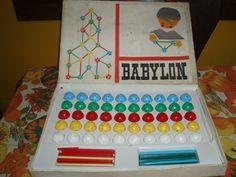 Babylon építőjáték 1974