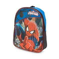 Marvel Ultimate Spider Man Mini Blue Backpack by Animewild. #Marvel #Ultimate #Spider #Mini #Blue #Backpack #Animewild