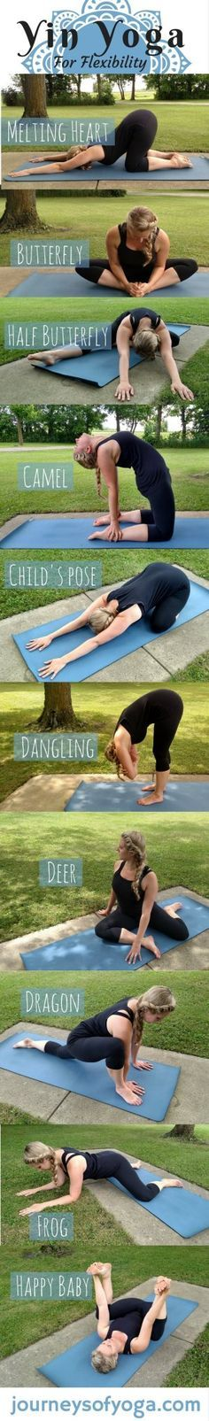 More poses in the post, plus yin yoga benefits Posted By: NewHowToLoseBellyFat.com
