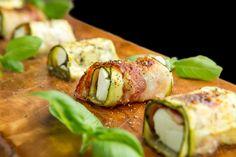 Gary's Low Carb Kitchen geht in die zweite Runde: Zucchini-Schafskäse-Sushi. Sie sind guilt-free und die ideale Beilage zu Salaten oder Gegrilltem!