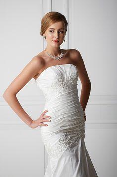 Mecco Hääpuku MW10051 One Shoulder Wedding Dress, Wedding Dresses, Fashion, Bride Dresses, Moda, Bridal Wedding Dresses, Fashion Styles, Weding Dresses, Dress Wedding