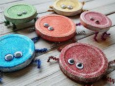 coffee cup lid crafts - Google Search