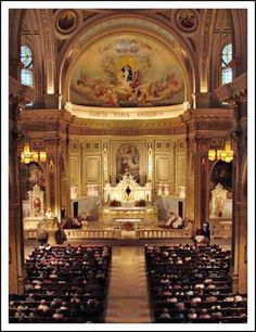 breathtaking roman catholic church