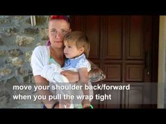 Rebozo Carry with a Slipknot - size 2 wrap - Toddler {Wrap You in Love}