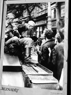 August 1968, Prague Prague Spring, Warsaw Pact, Prague Czech Republic, Old Photography, East Germany, August 21, High Art, Cold War, Eastern Europe