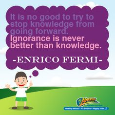 """ignorance is never better than knowledge As recent political events on both sides of the atlantic have demonstrated, ignorance is trending politicians boast, """"i'm not a scientist"""" or that people are """" sick of experts"""", and rather than expertise, lack of experience is framed as a credential in this climate, fake news is on the rise and flagrant lies by those in."""