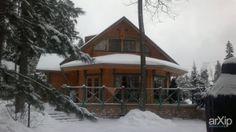 """Проект реконструкции финского дома """"Хонка"""" из клеёного бруса: архитектура, строительство, жилье, 3 эт   9м, 300 - 500 м2, фасад - дерево, фасад - ж/б, коттедж, особняк, шале, проектирование, реконструкция #architecture #construction #housing #3floors_9m #300_500m2 #facade_wood #facade_ironconcrete #cottage #mansion #chalet arXip.com"""
