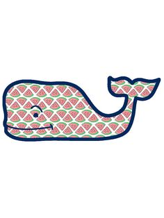 Vineyard Vines Watermelon Whale