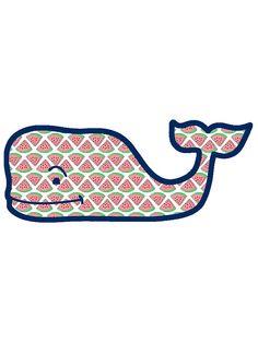 Vineyard Vines Watermelon Whale