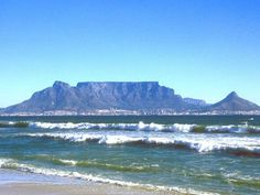 Table Mountain from Bloubergstrand, Cape Town, South Africa Visit South Africa, Cape Town South Africa, Table Mountain Cape Town, 7 Natural Wonders, Big Bay, Out Of Africa, Wonders Of The World, Places To See, Scenery