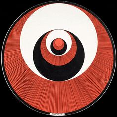 Marcel Duchamp – Rotorelief Optical Discs, 1935. Rotorelief #1 Corolles