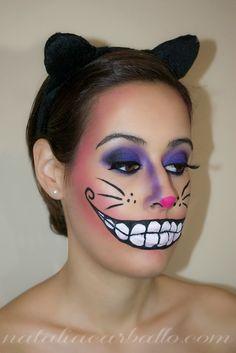 Look carnaval: Gato de Cheshire