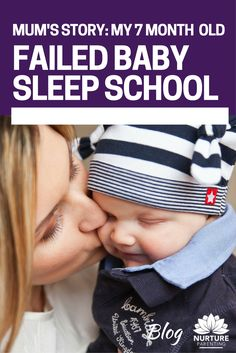 """A baby sleep success story ... """"As a mum and baby who 'failed' Tresillian, my family were at the end of our sleep tether before we met Karen. Our baby was 7 months old. He'd started life with nasty reflux and had never formed the habit of properly linking sleep cycles. A friend recommended Karen ...""""  Click to read more on what mum did after baby sleep school let her down."""
