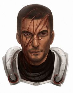 Mass Effect Non-human characters in human form: Wrex