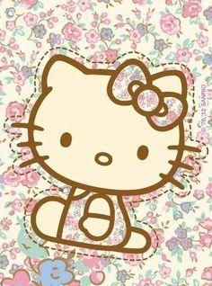 Hello Kitty ♡ So Kawaii Hello Kitty Art, Hello Kitty Themes, Hello Kitty My Melody, Hello Kitty Pictures, Sanrio Hello Kitty, Kitty Kitty, Hello Kitty Backgrounds, Hello Kitty Wallpaper, Cute Backgrounds