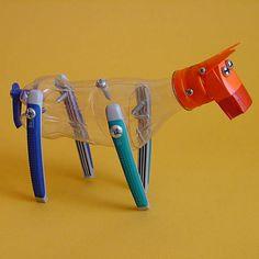 Juguetes a partir de materiales reciclados: caballo