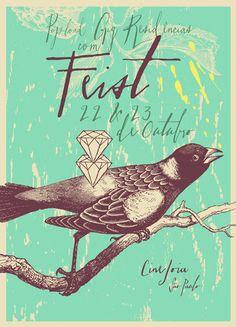 feist gig posters | nos próximos meses: Fiona Apple e Lollapalooza 2012 . Fiquem de ...