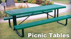 At BYO, we have a very large selection of Picnic Tables.