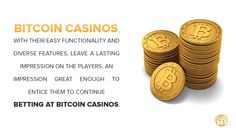 http://BitcoinCasino365.com - Due to the nature of bitcoins, transactions made with bitcon casinos are fast and secure, which ensure that the winnings are kept in a safe place until the time for their quick access and withdrawal.  Now available a total welcome bonus package of 1200m Bitcoins register today at BitcoinCasino365.com. Visit - http://BitcoinCasino365.com