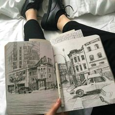 Shared by Catalina. Find images and videos about style, beauty and art on We Heart It - the app to get lost in what you love. Art Sketches, Art Drawings, Hipster Drawings, Pencil Drawings, Arte Sketchbook, Art Hoe, Sketchbook Inspiration, Sketchbook Ideas, Gcse Art
