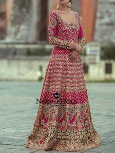 Samarkand Bridal Wear Collection 2018 by Sania Maskatiya – Niftilicious Indian Bridal Wear, Pakistani Dress Design, Pakistani Wedding Dresses, Indian Dresses, Indian Outfits, Indian Wear, Fashion Designer, Designer Dresses, Designer Wear