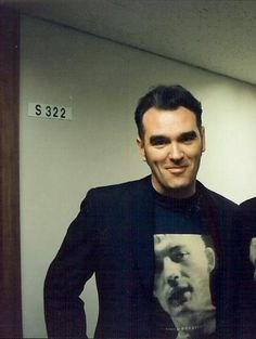 Morrissey This is one of the faces I will see when I get to heaven.