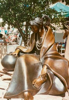 Santa Fe, NM is an art & sculpture heaven!