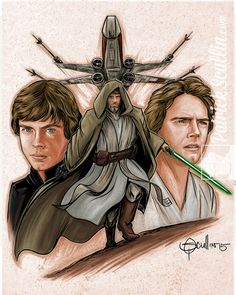"Patrick Scullin: ""Here is my tribute to Luke Skywalker the greatest Jedi in the galaxy."""