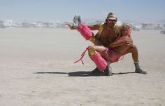 This begs the questions. Are costumes legitimate fashion? I SAY YES! Burning Man 2012 - In Focus - The Atlantic