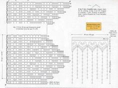 Crochet - Curtains for the kitchen Crochet Kitchen, Crochet Home, Crochet Yarn, Knitting Yarn, Filet Crochet Charts, Crochet Borders, Crochet Patterns, Art And Craft Flowers, Crochet Dollies