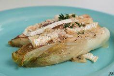 Carolines blog: Gekarameliseerde witlof met camembert
