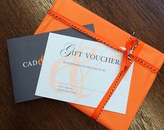 Cad and The Dandy Gift Vouchers. Simply select a preferred garment and its denomination. The receiver will then have the pleasure of picking their cloth, selecting their style and have one of our expert tailors create the perfect garment for them. All that remains is for the receiver to book their consultation, and let the process to begin.  www.cadandthedandy.co.uk/gift-vouchers
