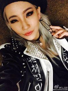 [WEIBO] CL_GZB: Hi weibo friends