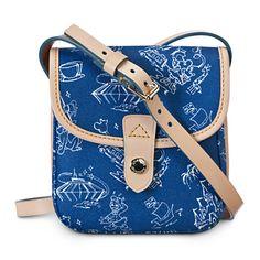 Disneyana Small Crossbody Bag by Dooney & Bourke - Walt Disney World - Navy