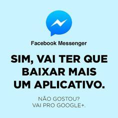 redes sociais e aplicativos sinceros facebook messenger
