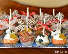 Wild West Cake Pops by Beverly's Bakery