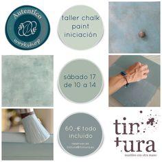 A pintar se ha dicho!!! http://www.tintura.es/cursos-talleres/ #PinturaDecorativa #ChalkPaintMadrid #TalleresTintura