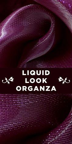 Italian Liquid Look Silk Organza in Deep Magenta B And J Fabrics, Textile Fabrics, Fabric Textures, Fabric Patterns, Ganesha Sketch, Fashion Terminology, Fabric Board, Hand Embroidery Tutorial, Hessa