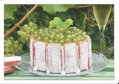 Charlotte champenoise glacée et biscuits roses de Reims de la part de Jacqueline