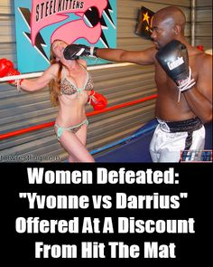 In this blog post I share info about a Hit The Mat mixed boxing video up for sale at their clips4sale store.   http://womendefeated.com/yvonne-vs-darrius-offered-at-a-discount-from-hit-the-mat/