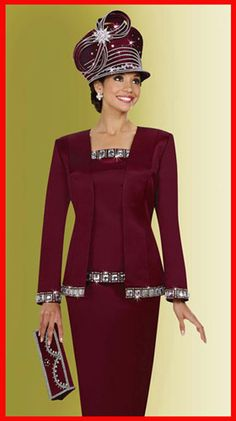 Check out the deal on Ben Marc International Womens Church Suit 4635 at French Novelty Church Dresses For Women, Church Suits And Hats, Women Church Suits, Suits For Women, Church Hats, Sunday Church Outfits, Sunday Clothes, Church Attire, Dress Hats