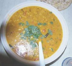 Chana Dal (Spicy Split Yellow Lentils) Recipe - Pakistani Main Course Bean/Lentil Dish - Fauzia's Pakistani Recipes - The Extraordinary Taste Of Pakistan