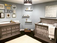 2462 best Boy Baby rooms images on Pinterest   Child room  Kid rooms     Little Leo s Nursery fit for a King  Baby room decor for boysBaby nursery  ideas