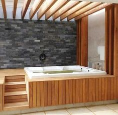 Hot Tub Privacy: Most Inspiring Ideas for Ultimate Comfort Hot T. - Hot Tub Privacy: Most Inspiring Ideas for Ultimate Comfort Hot Tub Privacy: Cozy Pa - Hot Tub Privacy, Hot Tub Backyard, Hot Tub Garden, Hot Tub Pergola, Backyard Pools, Pool Decks, Garden Pool, Pool Landscaping, Outdoor Patio Designs