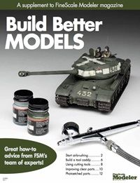 From choosing your first airbrush to working with photoetched metal, this free guide from FineScale Modeler will teach you how to build better scale models.