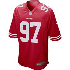 49ers Game, Nfl 49ers, Nike Nfl, San Francisco 49ers, 49ers Outfit, American Football Jersey, Jersey Outfit, Man Games, Men's Football