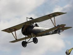 Modern flying reproductions of WWI aircraft, Masterton New Zealand Nieuport.jpg