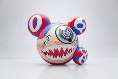 *Pre-Order* Takashi Murakami x ComplexCon Mr DOB Figure By BAIT x SWITCH Collectibles (original units of original edition made. Takashi Murakami Sculpture, Modern Art, Contemporary Art, Superflat, Toy People, Jeff Koons, Mark Rothko, Vinyl Toys, Designer Toys