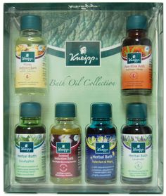Kneipp Bath Oil Collection  #body #bath #spa